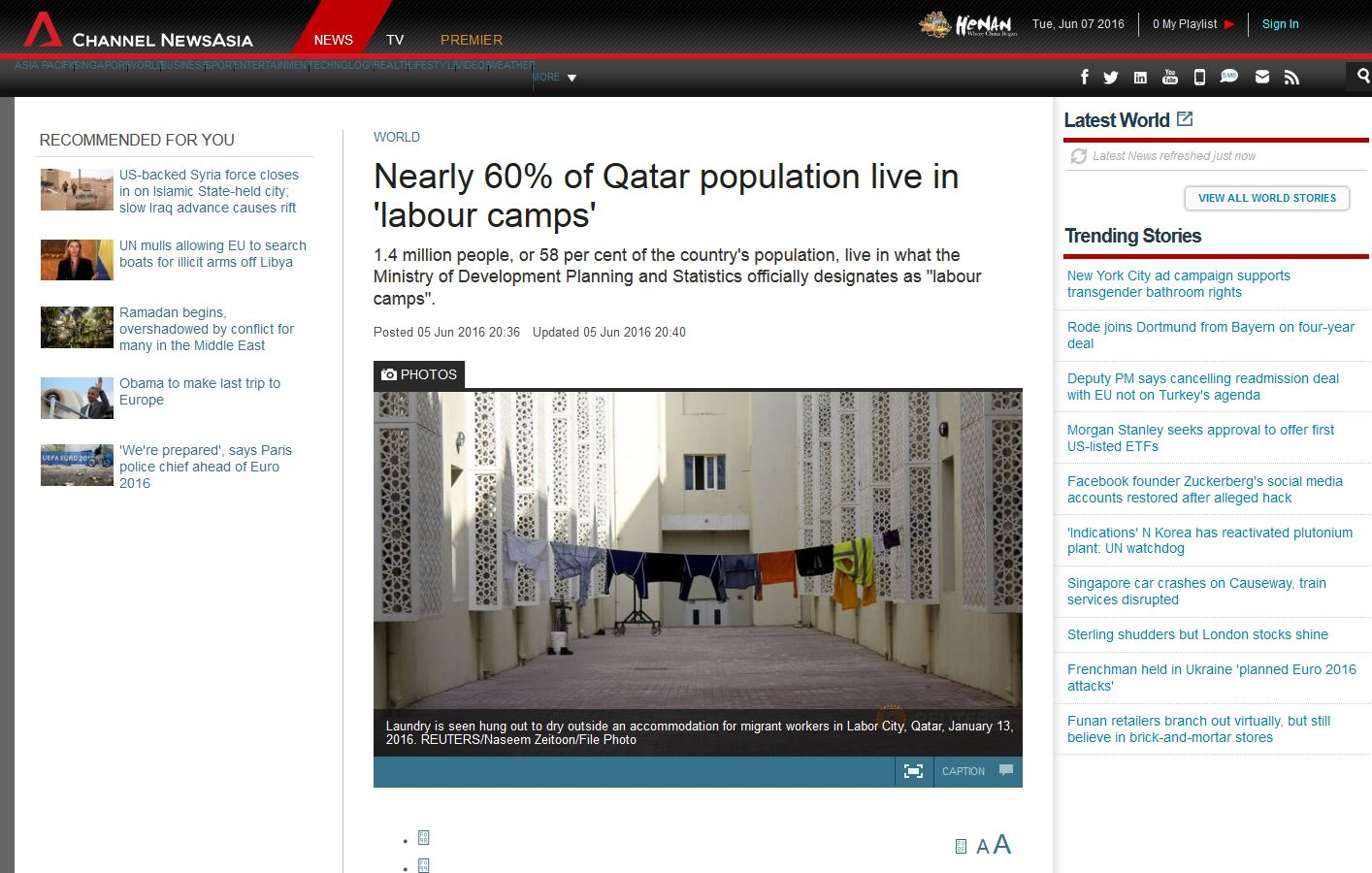 Nearly 60% of Qatar population live in 'labour camps' - Channel NewsAsia' - translate_googleusercontent_com_translate