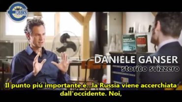 Daniele Ganser: l'Ucraina è un false flag.
