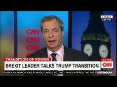 'Mr. Brexit' Nigel Farage CNN Full Interview: Bannon Not Racist, Trump is Ambitious for America