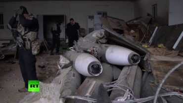 Iraqi forces discover stockpile of chemical warfare agent, missiles in Mosul