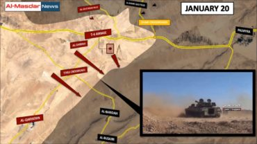 Syrian War Update –Palmyra Front (January 22, 2017): See-sawing Battles in the Syrian Desert.