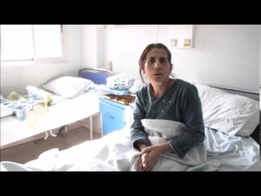 Military Hospital Damascus, Syria: Woman, paralysed in Tartous suicide bombings May 2016
