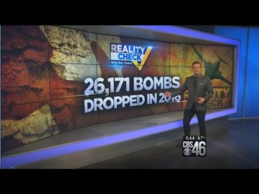 Reality Check: Nobel Peace Prize Winning President Obama Drops 26,171 Bombs in 2016