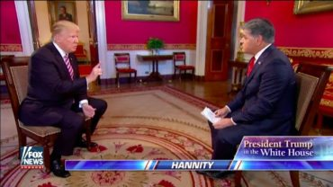 FULL: President Trump Hannity Interview In The White House 1/26/17