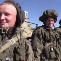 Russian sappers were given farewell ceremony by Aleppo residents