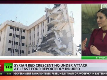 Syrian Red Crescent HQ attacked, at least 4 injured
