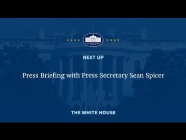 FULL White House Press Briefing With Sean Spicer LIVE 3/8/2017