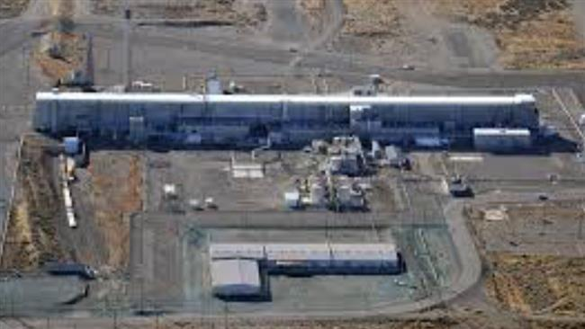 A photo of massive plutonium finishing plant at the Hanford Nuclear Reservation in Washington state. The tunnel that collapsed on Tuesday morning led to this building.
