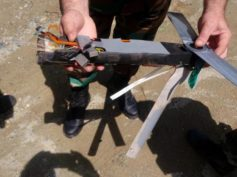 In pictures: Syrian Army shoots down three US drones over northern Latakia