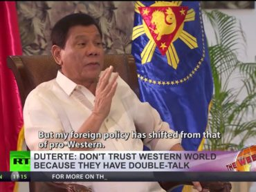 Duterte: Philippines is not US colony anymore, I want more ties with Russia