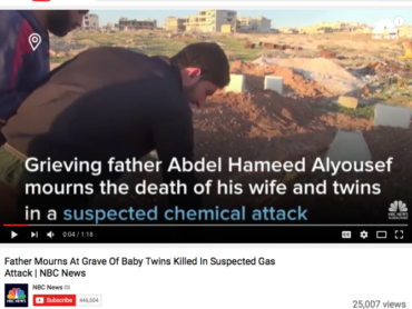 Father of Invention: Media Portrayed Grief Stricken Dad Turns Out To Be al-Nusra Front Terrorist