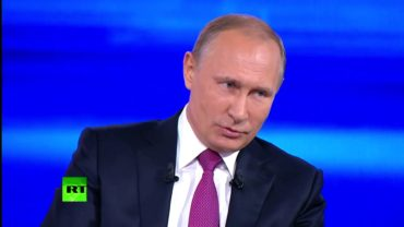 I Don't Forget Cheaters! – Putin About Attempts to Cheat Him
