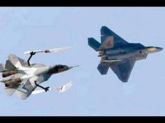 BREAKING: Russian Su-27 scares off NATO F-16 trying to approach defense minister's plane over Baltic