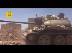 Syrian Army against ISIS on border of Raqqa province