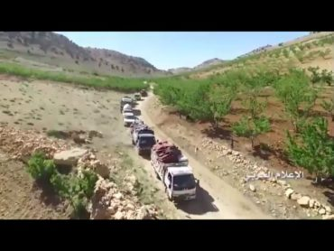 Syrian refugees returning from Lebanon to their homes in Asal Alward