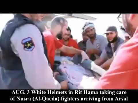 WHITE HELMET WELCOME NUSRA FRONT FIGHTERS TO IDLIB