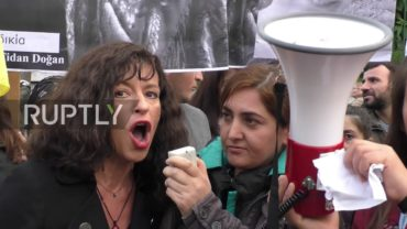 Greece: Protesters march in Athens demanding justice for slain Kurds