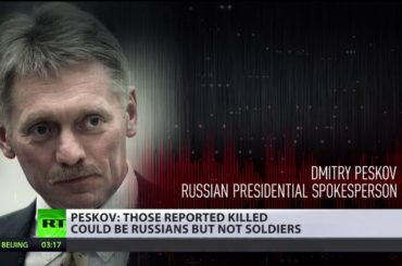 Don't be misled by distorted data – Kremlin on reports of Russians killed in Syria