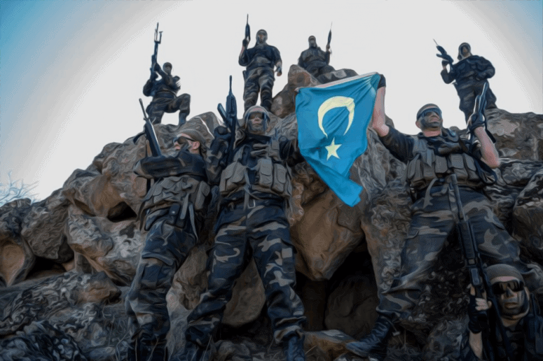 From China to Syria, pro-Turkish Uighur militia with Western weapons