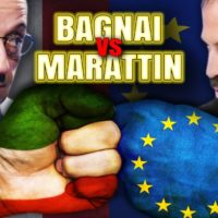 Byoblu: Alberto Bagnai ( Lega) Vs Luigi Marattin (PD) – video integrale
