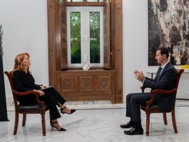 RAI ( italian television) does not broadcast an important interview with Syrian President Assad