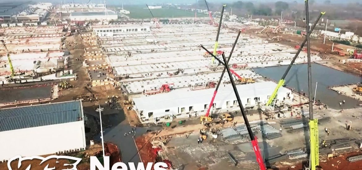 Watch This Time-Lapse of China Building a Coronavirus Hospital in Two Weeks