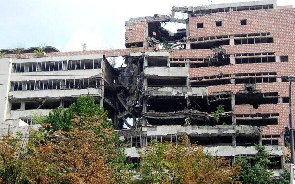 Belgrado - bombardamento Nato Ministero