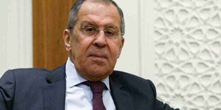 ministro degli esteri russo Lavrov - foto Ria.ru