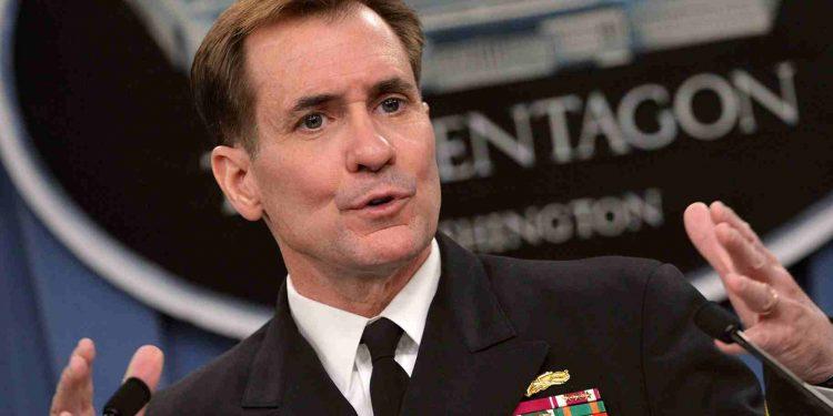 Il portavoce del Pentagono John Kirby - wikipedia common