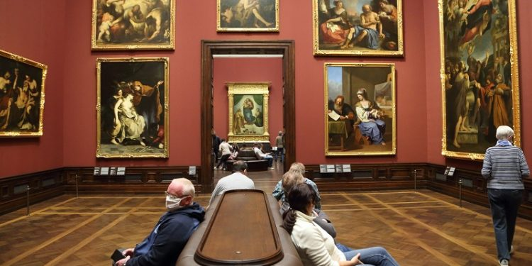 (Dresda (Germania), Pinacoteca dei vecchi maestri. Foto: Joanna Borowska / Forum)